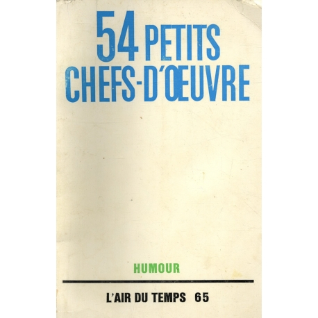 54 petits chefs-d'oeœuvres / Humour / collectif / Réf12118