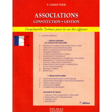 Associations - Constitution Gestion / Lemeunier / Réf: 12553
