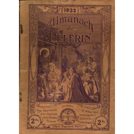 Almanach du Pèlerin 1932 / Collectif / Réf18799