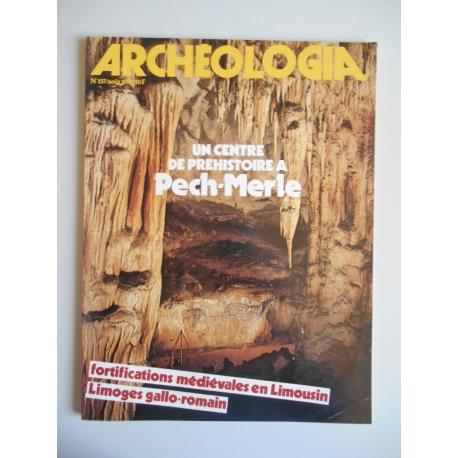 Archéologia aôut N157 / Revue1981 / Réf: 37085