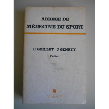 Abrégé de médecine du sport / René Guillet / Réf55231