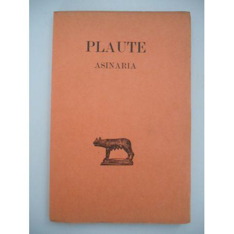 Asinaria / Plaute / Réf58962